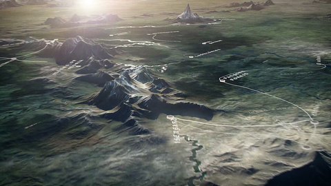 Lurzer S Archive Experience An Interactive Map Of Middle Earth